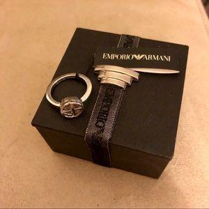 Emporia Armani Sterling Silver Ring